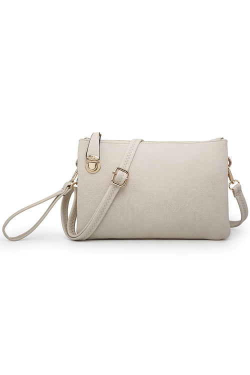 The Dianne Crossbody Bag - Ivory