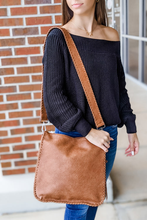 The Harmony Crossbody Bag - Tan
