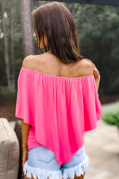 The Perfect Fit Top - Guava