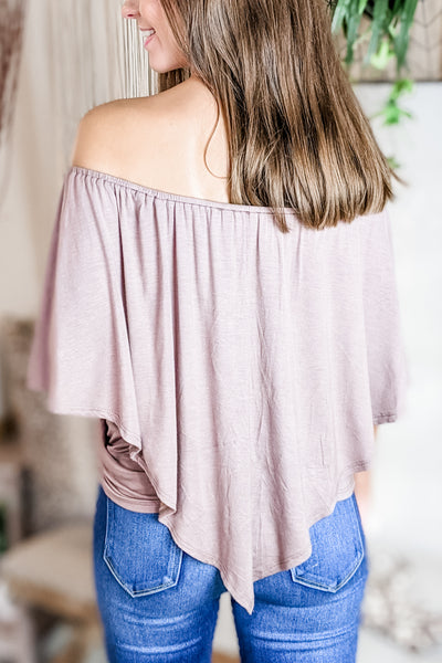The Perfect Fit Top - Mocha