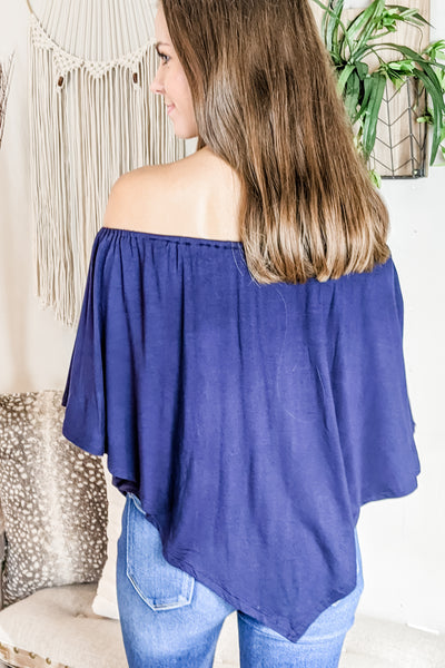 The Perfect Fit Top - Navy