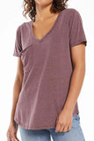 Z Supply: The Pocket Tee - Merlot