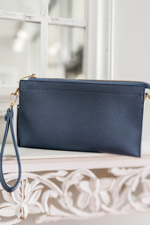 The Rachel Crossbody Bag - Jean