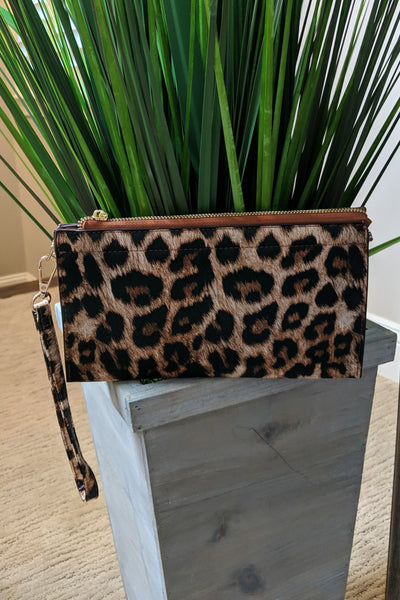 The Rachel Crossbody Bag - Leopard
