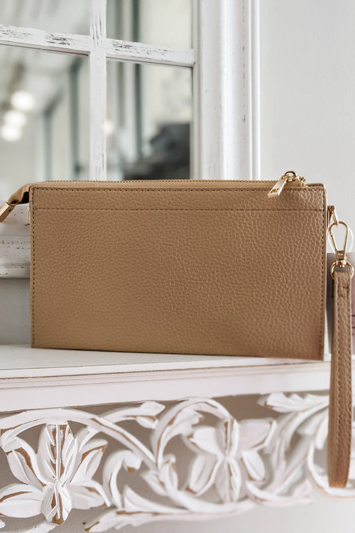 The Rachel Crossbody Bag - Lt. Beige