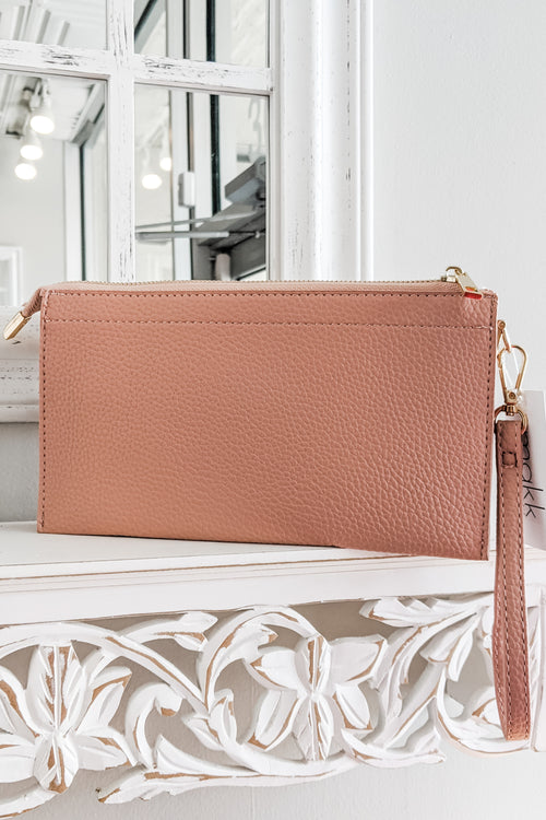 The Rachel Crossbody Bag - Lt. Pink