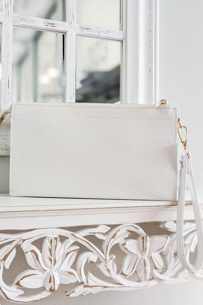 The Rachel Crossbody Bag - White