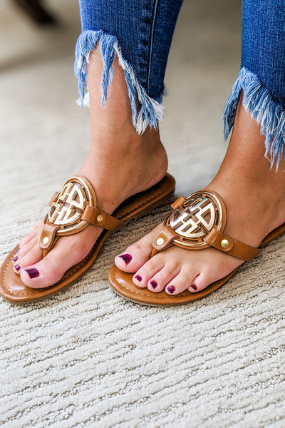 The Sophia Sandals - New Tan
