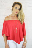 The Perfect Fit Top - Coral