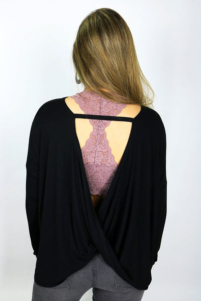 Want You Back Top - Black