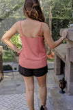 Wine And Dine Tank Top - Terra Cotta