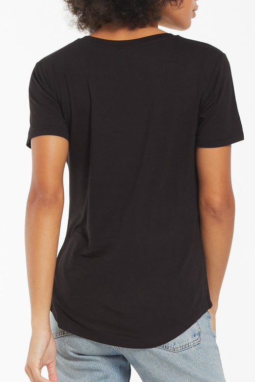 Z Supply: Lipa Sleek Tee - Black