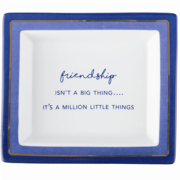 Million Little Things Porcelain Tray