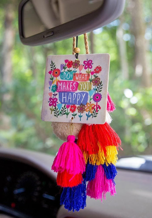 Do What Makes You Happy Air Freshener - Natural Life