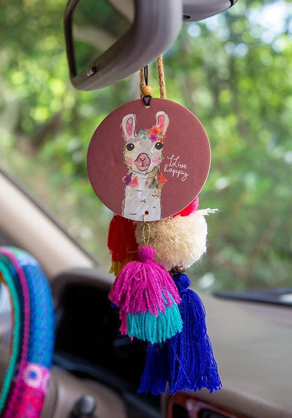 LLive Happy Llama Air Freshener - Natural Life