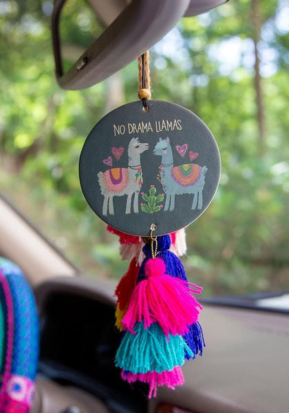 No Drama Llama Air Freshener - Natural Life
