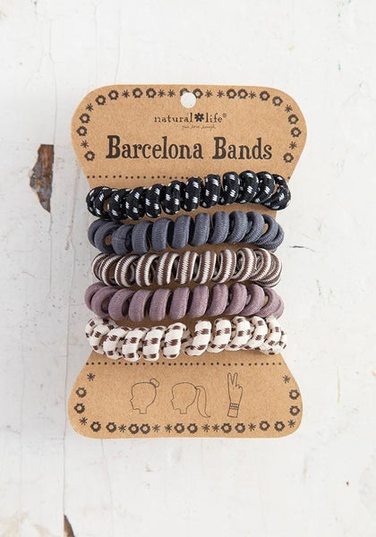 Grey Paracord Barcelona Bands - Natural Life