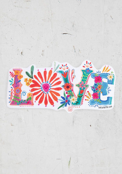 Love Vinyl Sticker - Natural Life
