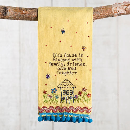 Blessed House Linen Hand Towel