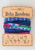 Natural Life Mixed Print Boho Bandeau