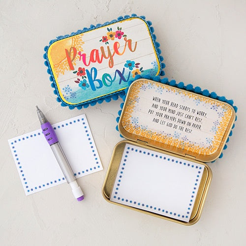 Sunshine Gold Prayer Box