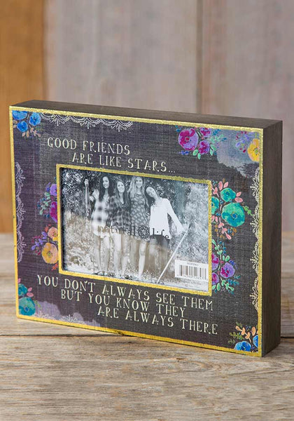 Good Friends Are Like Stars Picture Frame