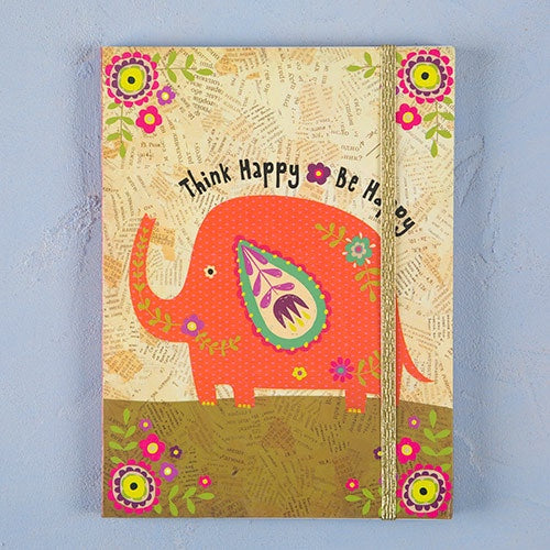 """Think Happy Be Happy"" Journal"