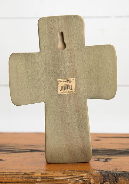 I Can Do All Things Large Wood Cross