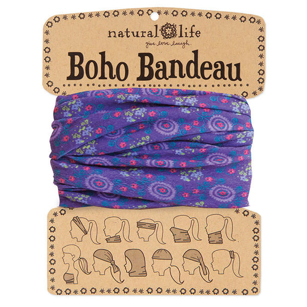 Purple Boho Bandeau