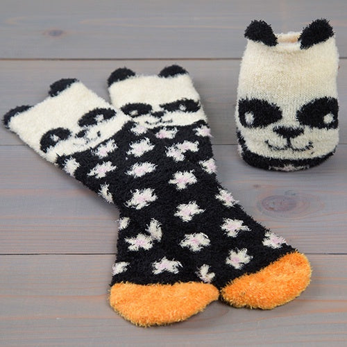 Cozy Panda Socks