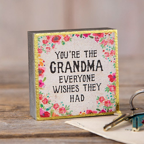 Grandma Tiny Block Keepsake