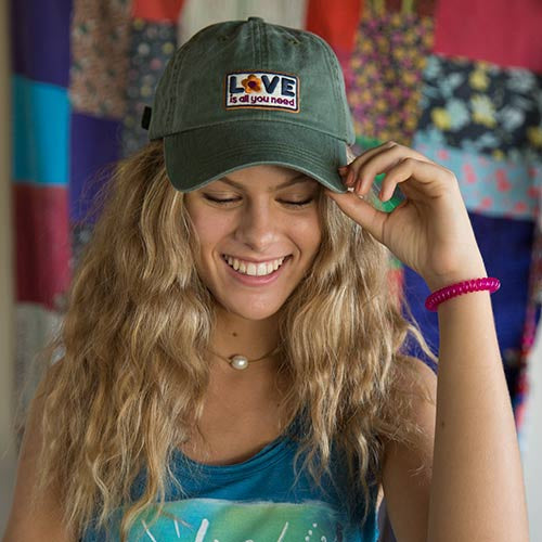 """Love All You Need"" Hangout Hat"