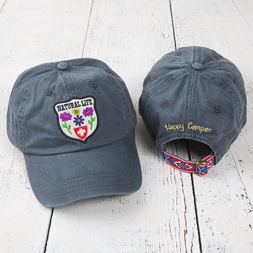 Natural Life Patch Hangout Hat