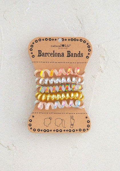 Iridescent Gold Barcelona Bands - Natural Life