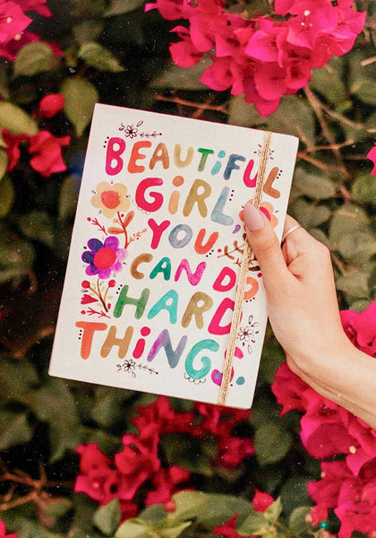 Beautiful Girl Journal - Natural Life