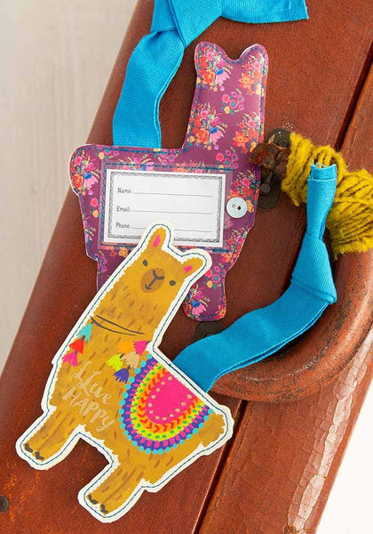 Llive Happy Luggage Tag - Natural Life