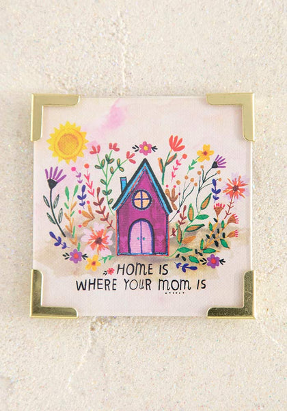 Home is Mom Corner Magnet - Natural Life