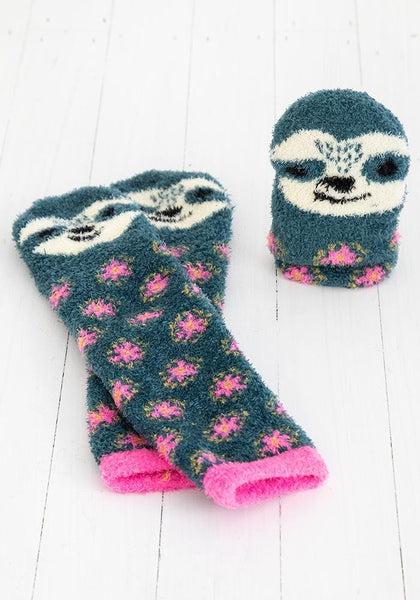 Sloth Cozy Sock - Natural Life