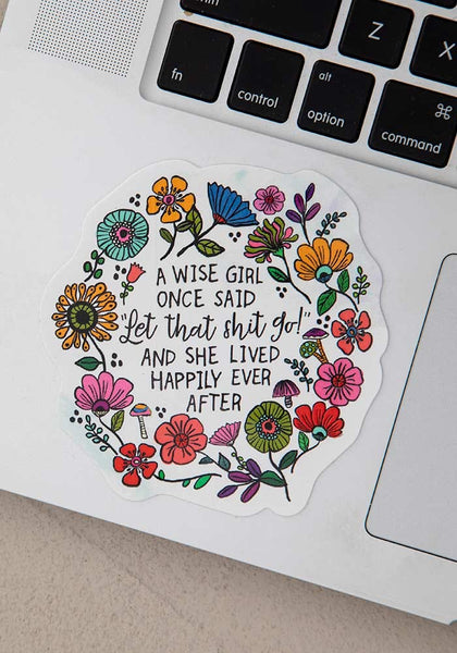 Wise Girl Vinyl Sticker - Natural Life
