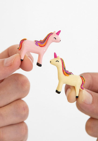 Unicorns Set of Two Lucky Little Tokens - Natural Life