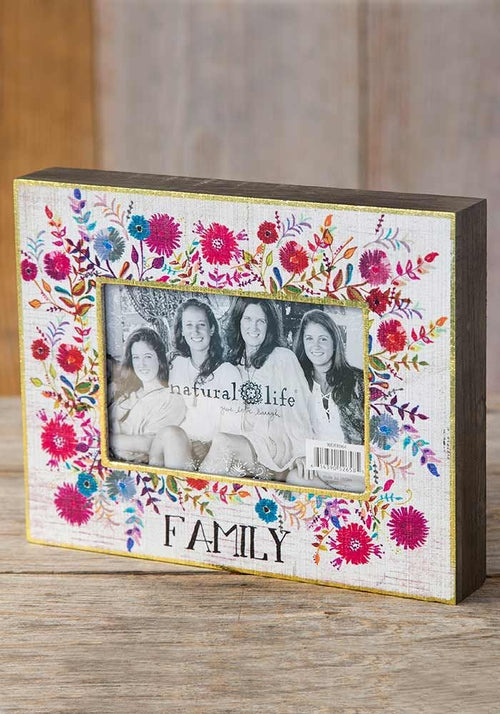 Family Picture Frame - Natural Life