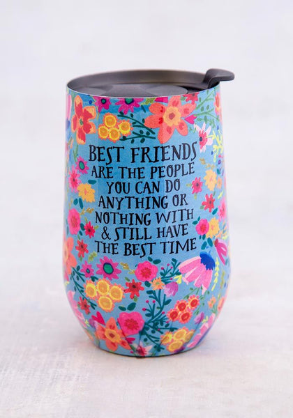 Best Friends Wine Tumbler - Natural Life