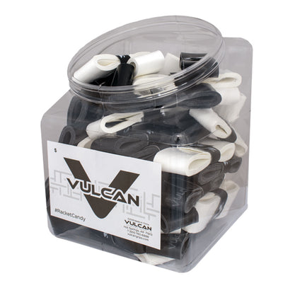50-Count Max Tacky Overgrip Jars - Vulcan Tennis Grips