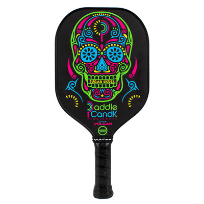 "Paddle Candy ""Sugar Skull"" Pickleball Paddle - Vulcan Grips"