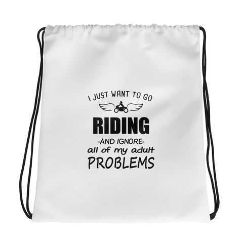 Problems Drawstring bag