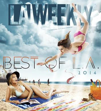 "LAWEEKLY ""BEST ART STUDIO TO SPEND THE NIGHT!"""