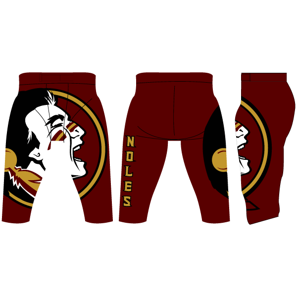 Attack Spandex Football Pants (Full Custom)
