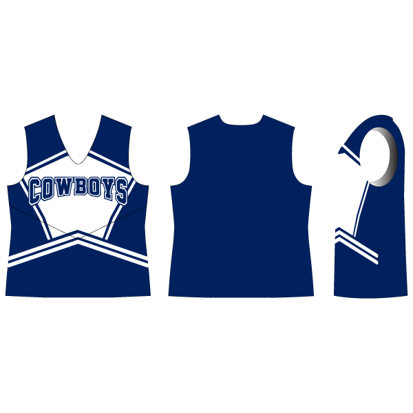 Pride Classic Sleeveless Cheer Top