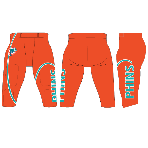 Game Day Integrated Football Pants (Full Custom)