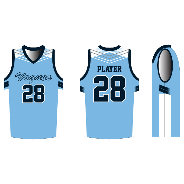 INDIVIDUAL Double Double Basketball Jersey